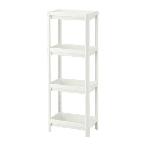 ikea-vesken-4-estanteria-de-color-blanco-36-x-23-x-100-cm