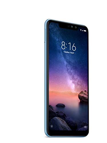 Xiaomi Redmi Note 6 Pro - 32GB 6.26-Inch Android 8.1 UK Version SIM-Free Smartphone - Blue (Official UK Launch)
