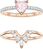 Swarovski Women's Multi-colored Rose-gold tone plated One Set Size N 544