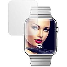 mtb more energy® Protector de pantalla de vidrio templado para Apple Watch 3 (42 mm) - Película protectora Cristal Tempered Glass