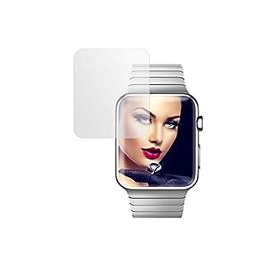 mtb more energy® Display Schutzglas für Apple Watch 2 (42 mm) – Hartglas Glasfolie Schutzfolie Tempered Glass
