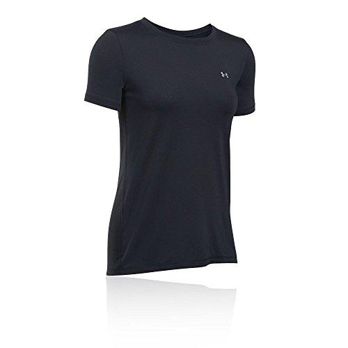 Under Armour Damen Fitness UA HG Armour SS T-Shirt, Schwarz, M