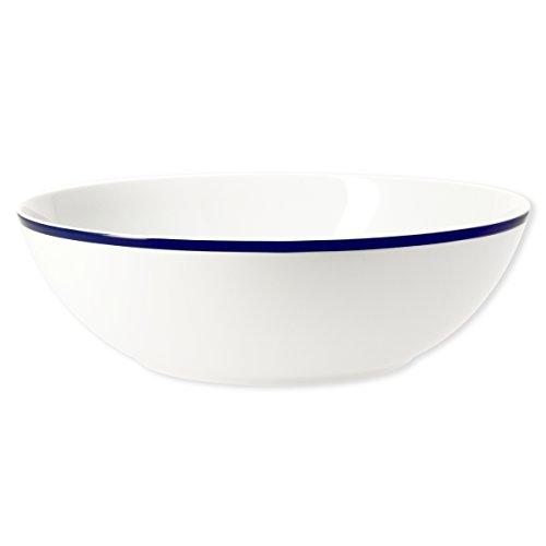 Bruno Evrard Saladier en Porcelaine Filet Bleu 25cm - Ritz