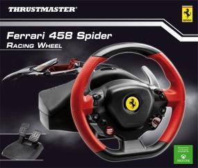 Roue réplique FERRARI 458 SPIDER pour XBOX ONE