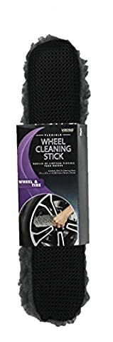 Viking 942500Baton de nettoyage Flexible pour roue avec brosse en microfibre douce