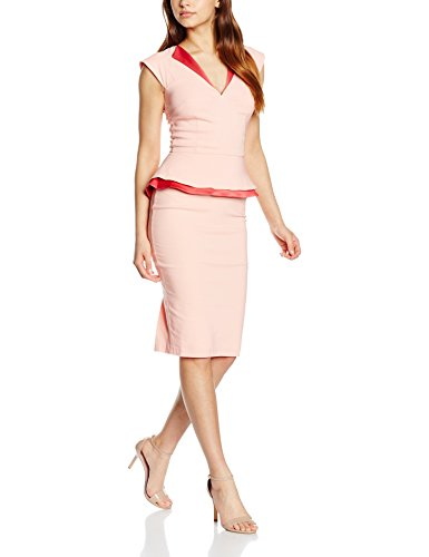 Hybrid Women's Grace Dress, Pink (Light Coral), 14