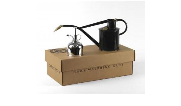 Haws Gießkanne haws gießkanne für zimmerpflanzen 1 liter schwarz mit mist sprayer