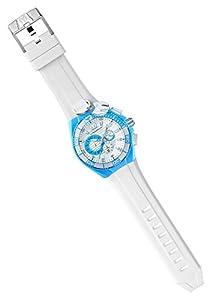 Technomarine Cruise Locker Charm Chronograph Stainless Steel & Sky Blue Unisex Key Ring Watch 112013 de Technomarine