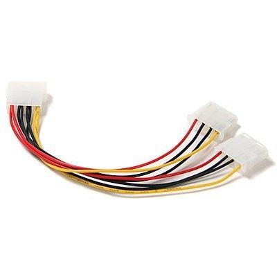 generic-computer Molex 4Pin Stromversorgung Y Splitter Kabel (Eide Ide Kompatibel)