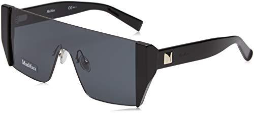 Max Mara Damen MM LINA II IR 807 99 Sonnenbrille, Schwarz (Black/Grey Blue),