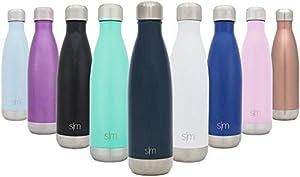 Simple Modern 1000ml Wave Wasserflasche - Trinkflasche Vakuum Isolierte Doppelwandige 18/8 Edelstahl - Hydro Camelbak Swell Bottle - Reisebecher, Flasche, Sporttrinkflasche - Tiefer Ozean