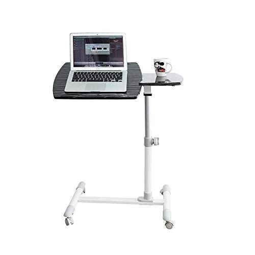 Dceer Tragbarer Laptopbetttisch, Faltbarer Notebookständer, verstellbares Frühstückstablett für...