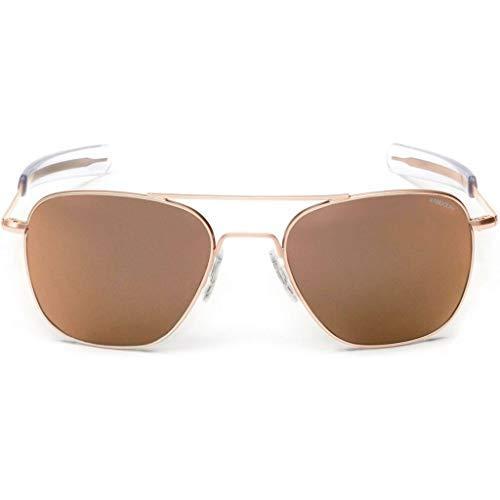 Randolph - Gafas de sol - para hombre Dorado oro rosa M