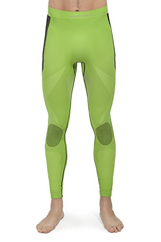 EMMITOU Herren Pants Platinum, Lime/Graphite, XXL, 5901282034620