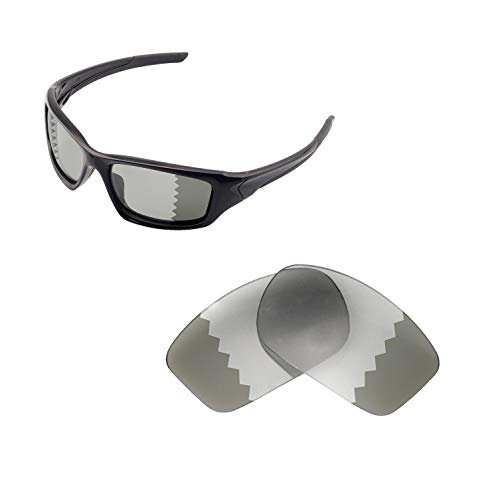Walleva Ersatzgläser für Oakley Valve Sonnenbrille -