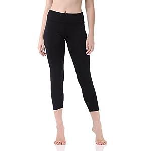 Pau1Hami1ton Damen Leggings 3/4, Sporthose Fitnesshose Training Laufhose Sport Tights Hohe Taille Yogahose, GP-07