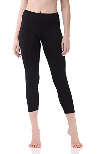 Pau1Hami1ton Leggins Mujer, Mallas Fitness Push Up Pantalones Deporte Running Yoga GP-07(Black,L)