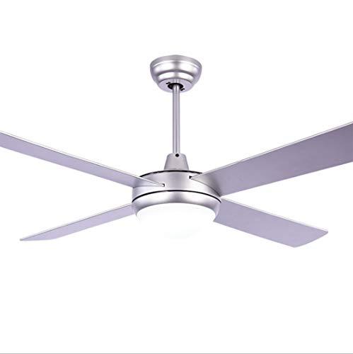 Downrods 4 (LeiLight moderner Deckenventilator48 Zoll Deckenventilator Licht mit Fernbedienung 4 Holzklingen für Wohnzimmer Schlafzimmer)