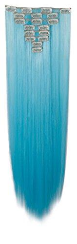 s-noiliter-extensions-de-cheveux-tout-droit-hair-couleur-bleu-ciel-extensions-a-clip-longueur-66-cm-