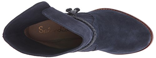 Splendid Larchmonte Femmes Daim Bottine Navy
