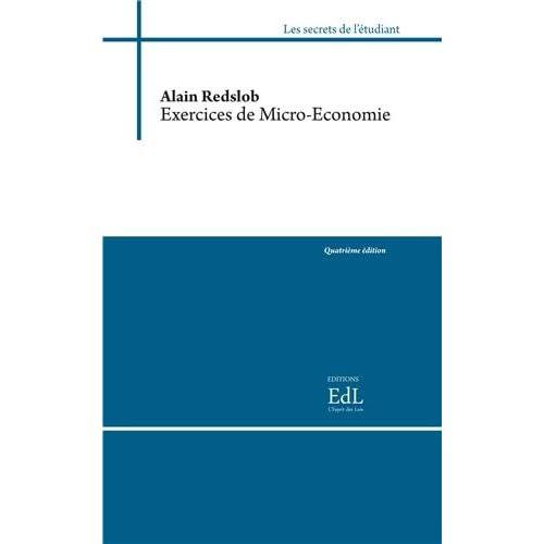 Exercices de micro-économie