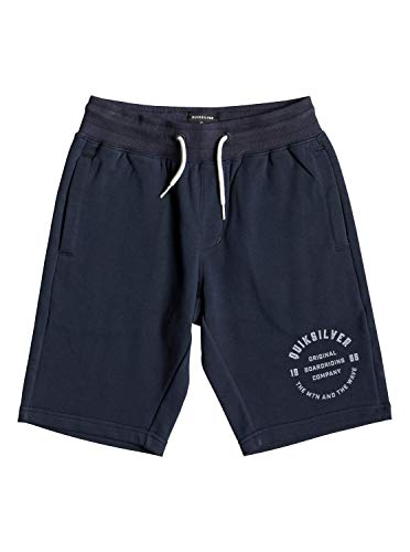 Quiksilver Jungen Everyday Track Short Youth Fleece Bottom, Navy Blazer, L/14 -