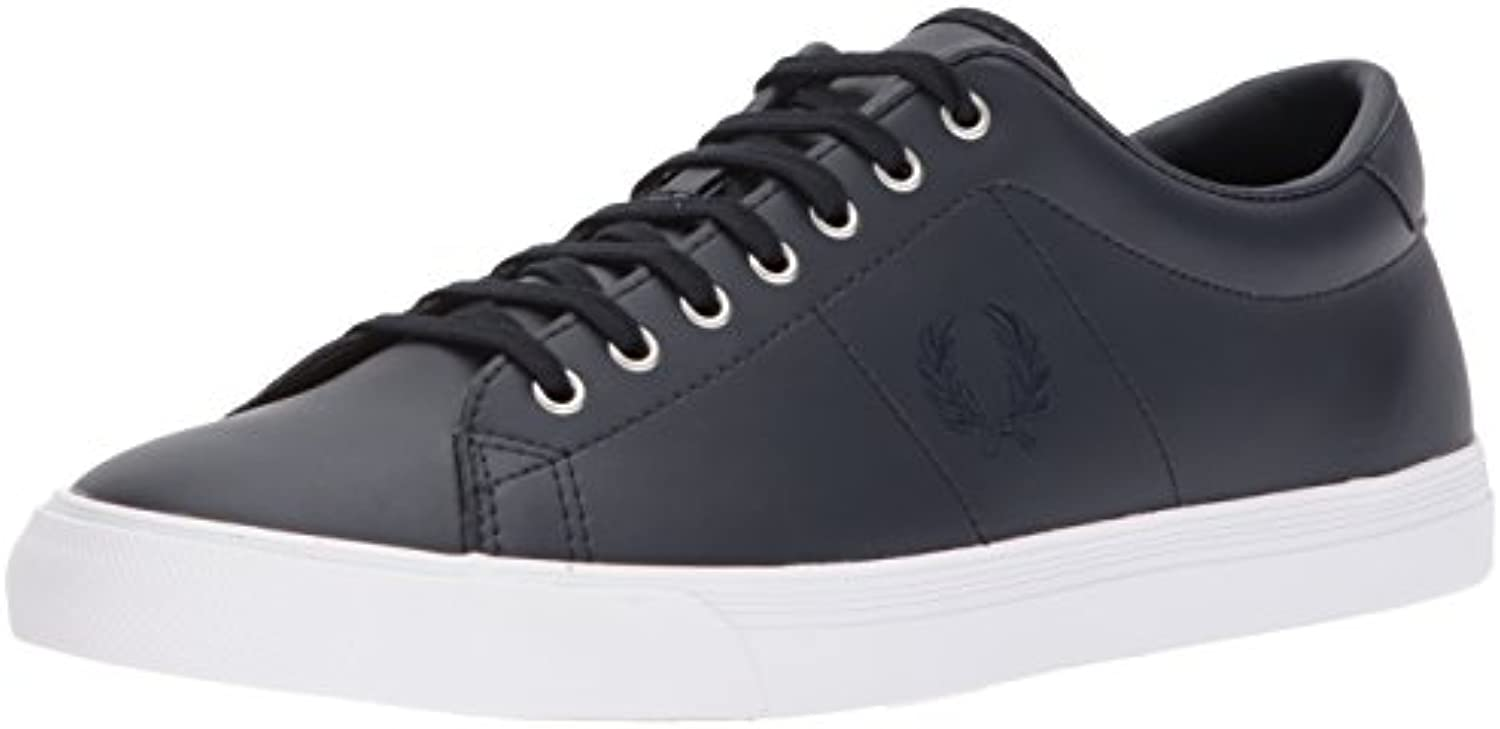 Fred Perry Underspin Leather, Zapatos de Cordones Oxford para Hombre -