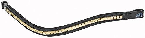 Busse Stirnband COMFORT, XWB, schwarz/Block-gold