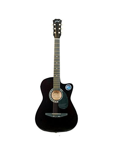buy jixing jxng 6 strings acoustic guitars right handed with combo black on amazon. Black Bedroom Furniture Sets. Home Design Ideas