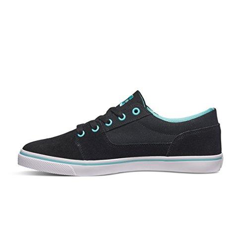 Dc Tonik W J  Ce1, Chaussons Sneaker Femme BLACK/AQUA