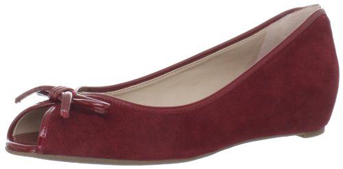 Franco Sarto Model Damen Rosa Wildleder Keile Schuhe EU 36 Franco Sarto Model