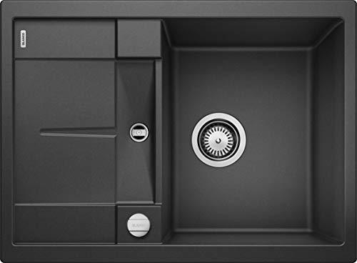 Blanco Metra S Compact - Fregadero de cocina antracita, color negro
