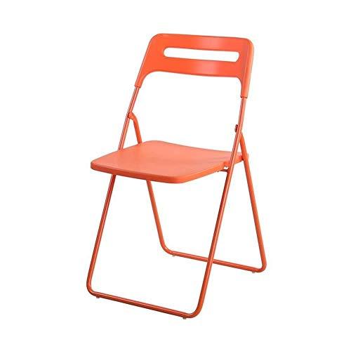 Rückenfreies Küche Hocker (FENGFAN Stühle, die rückenfreie ABS-Plastik Ultralight Garten-Balkon-Terrasse-Küche-Bad-Dusche Falten (Farbe : T6))