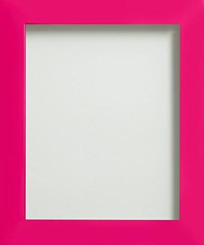 Frame Company Candy Range Bilderrahmen aus Kunststoff, A4, Hot Pink