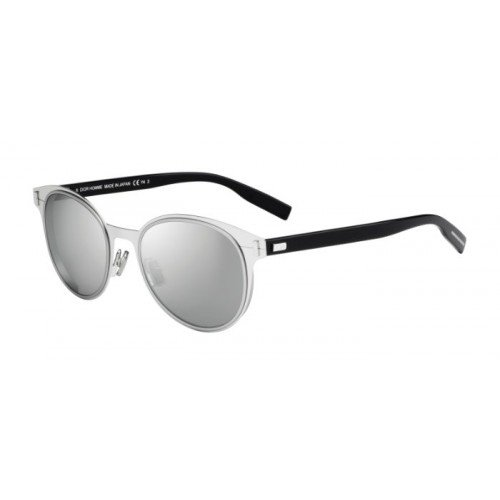 Christian Dior - DIOR DEPTH 01, Rund, Metall, Herrenbrillen, PALLADIUM BLACK/SILVER MIRROR(QR8/SS), 52/19/150