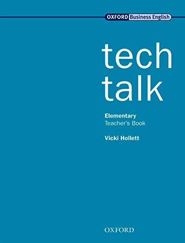 Tech Talk Elementary. Teacher's Book