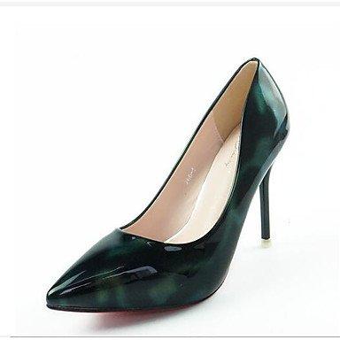 Zormey Frauen Heels Schuhe Pu Hochzeit Büro & Amp; Karriere Party & Amp; Abends Armee Grünes Licht Lila Dunkelblau 37