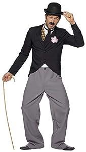 Smiffys Disfraz de estrella de los años 20, con chaqueta, pantalones, chaleco postizo y corbata
