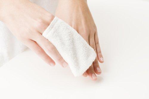 Micro Peeling Sensation - Doigtier démaquillant lavable - Blanc - 6 pièces - 8 x 10 cm