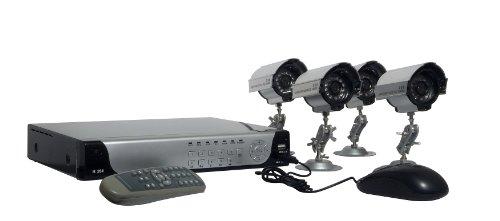 Chacon 34497 Kit Omnivision 2 4 Überwachungskameras für CCD-Dome Empfänger Quad Octocam connections 8 Kameras mit Internetverbindung 250 GB FESTPLATTE HDD 250GB HARD DRIVE 4-ccd-dome