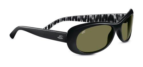 Serengeti eyewear lunettes de soleil bella M Noir - Noir brillant e2039fe43135