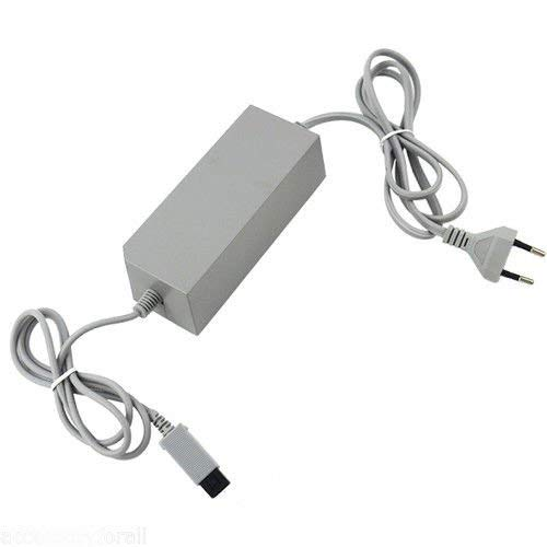 Gamelink Alimentatore CA Alimentatore Alimentatore Cavo EU Plug per Nintendo Wii Console System
