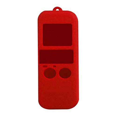 DERNON Kamera silikon schutzhülle gehäuse Shell rutschfest für DJI osmo Tasche rot -