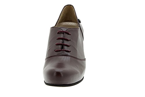 Piesanto Modell 5234 - Damenlederschuhe, Komfort, empfindliche Füße, herausnehmbare Innensohle, Sonderbreiten, bequeme Schuhe Bordeaux