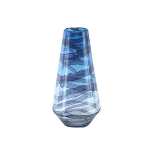 Vidal Regalos Glasvase, blau, 35 cm