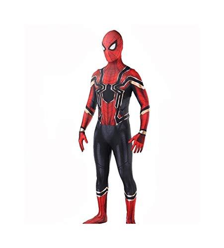 Second Skin Batman Kostüm Für Erwachsene - CSCLO Spider-Man Cosplay elastische Strumpfhose Erwachsene