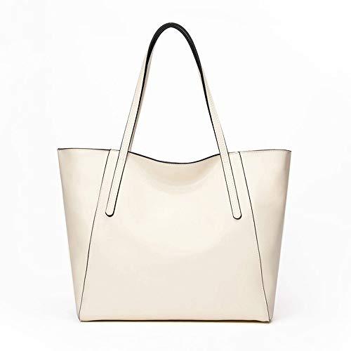 Kieuyhqk Womens Damen Leder Schultertasche Einkaufstasche Top Griff Übergröße Handtaschen für die Arbeit Einkaufen Dating Alltag Multi-Farben Damen Casual Handtasche Schulter-Handtasche
