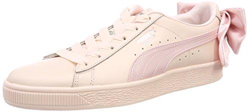 Puma Basket Bow Wn's, Scarpe da Ginnastica Basse Donna, Rosa Pearl, 36 EU