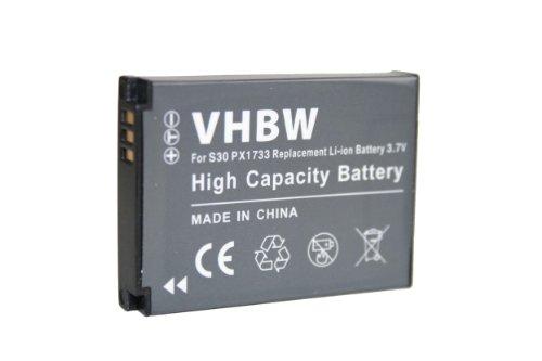 Batteria li-ion per toshiba camileo s30, camileo s30 hd, x150, pa3893u-1cam sostituisce px1733, pc1733e-1brs