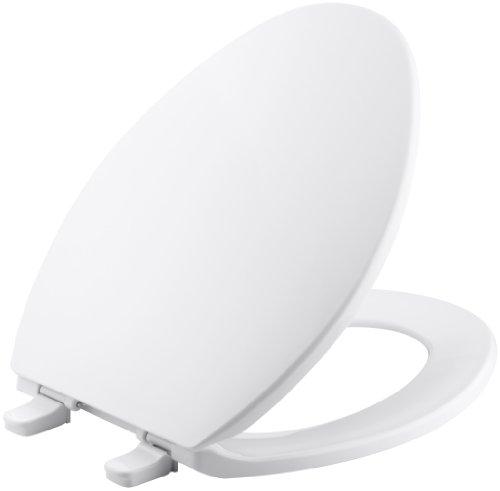 Kohler k-4774-0Brevia länglich WC-Sitz mit Q2Advantage, weiß